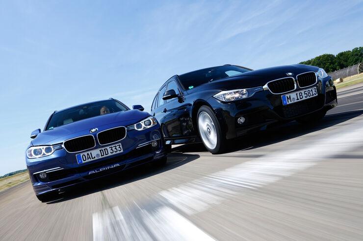 BMW 335d xDrive Touring, Alpina D3 Biturbo Touring Allrad, Frontansicht