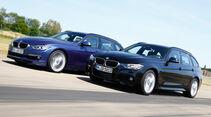 BMW 335d xDrive Touring, Alpina D3 Biturbo Touring Allrad, Seitenansicht