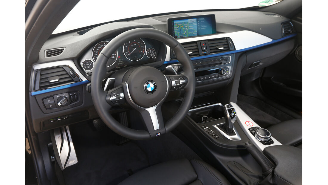 BMW 335d xDrive Touring, Cockpit