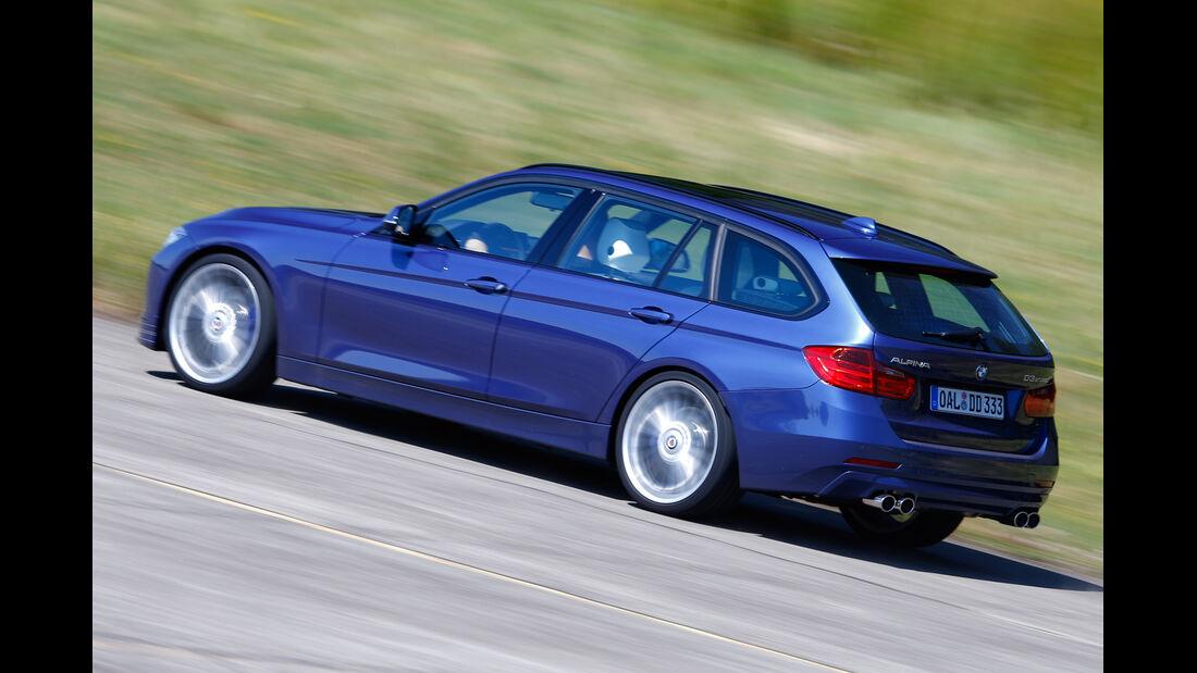 BMW 335d xDrive Touring, Seitenansicht