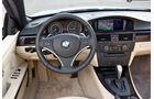 BMW 335i Cabriolet, Cockpit
