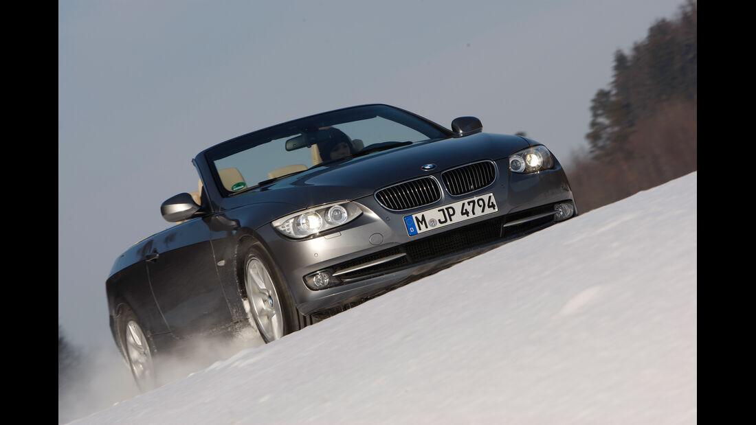 BMW 335i Cabriolet, Frontansicht