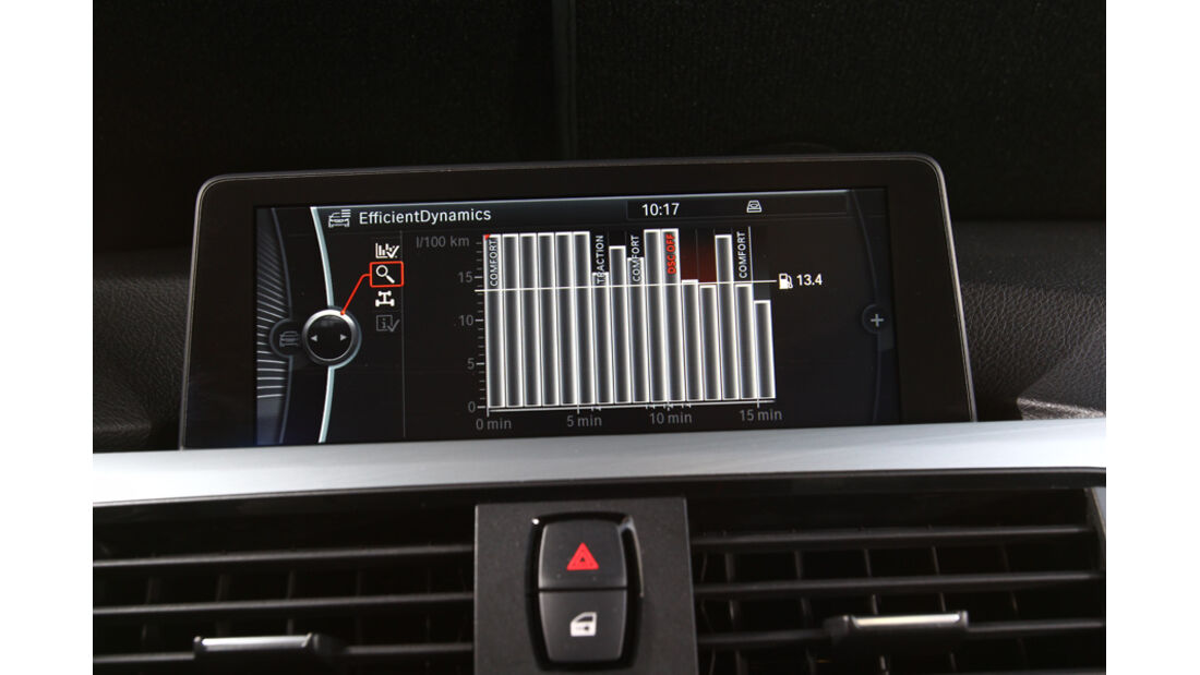 BMW 335i, Display