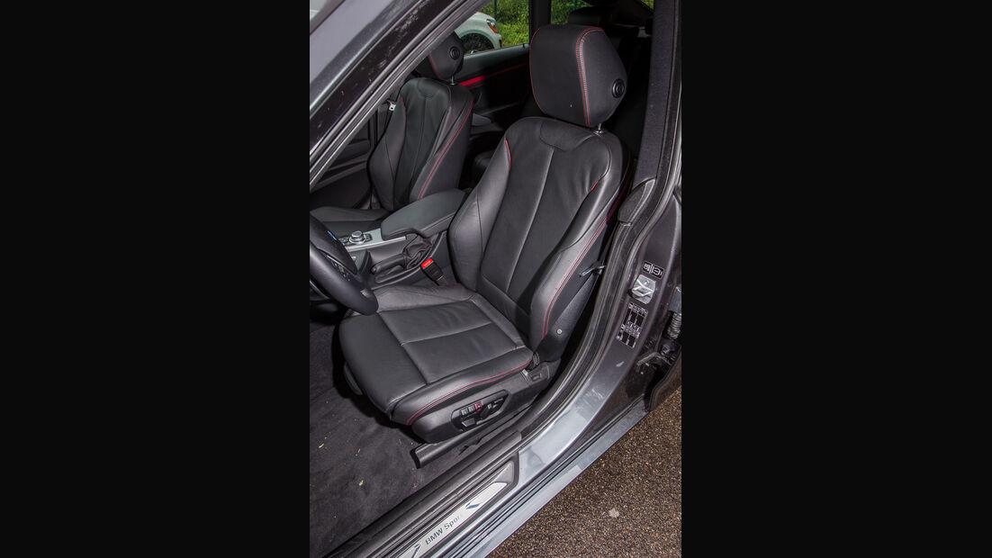 BMW 335i GT, Fahrersitz