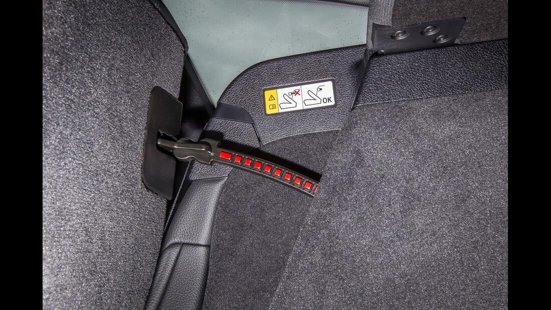 BMW 335i GT, Gurt