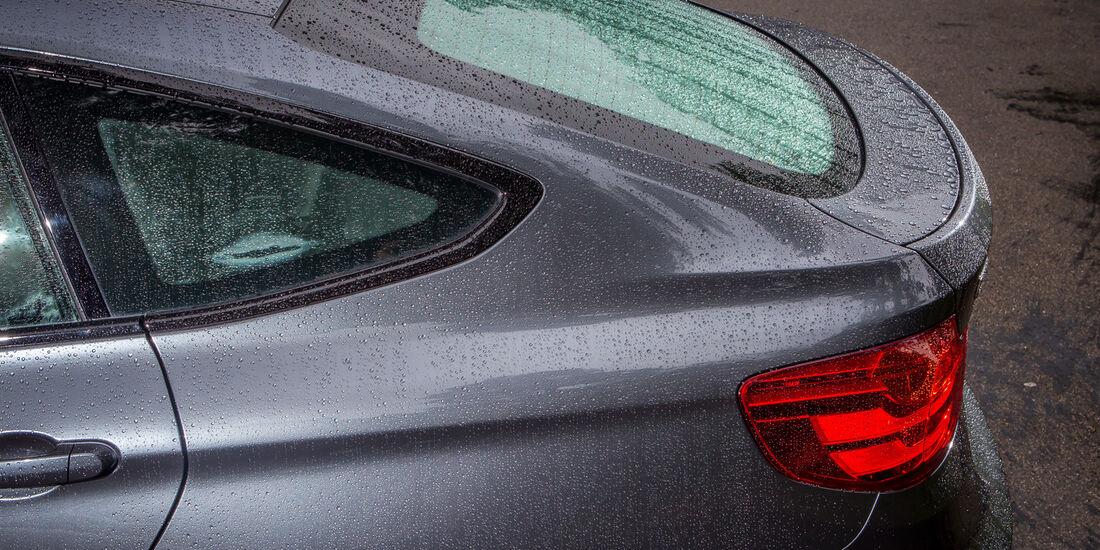 BMW 335i GT, Heckfenster