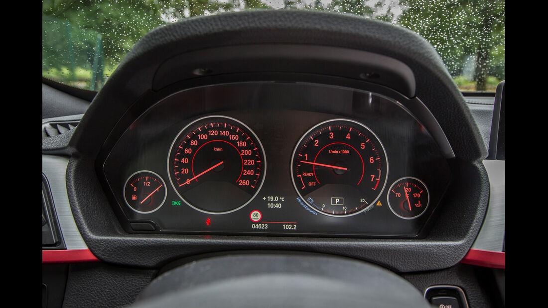 BMW 335i GT, Rundinstrumente