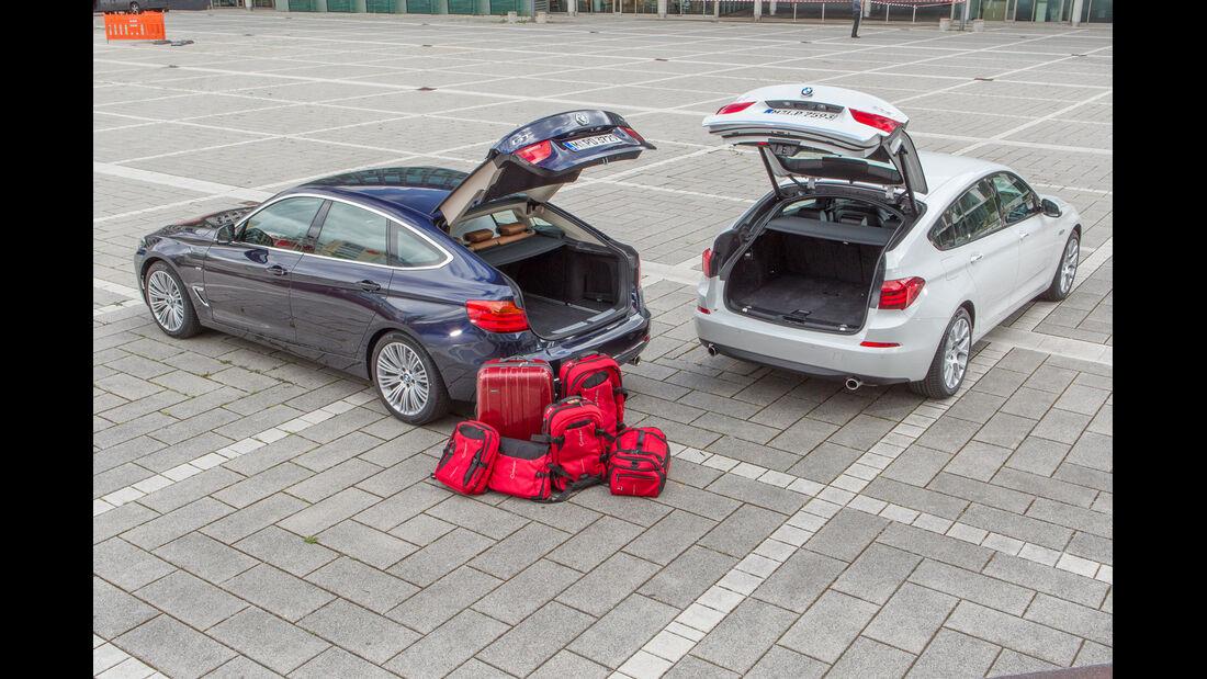 BMW 335i Gran Turismo, BMW 535i Gran Turismo, Heckklappe