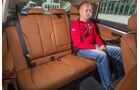 BMW 335i Gran Turismo, Fondsitz, Beinfreiheit