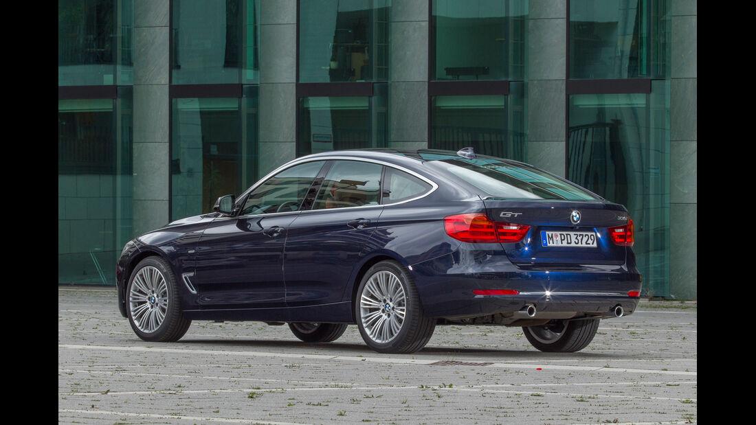 BMW 335i Gran Turismo, Heckansicht