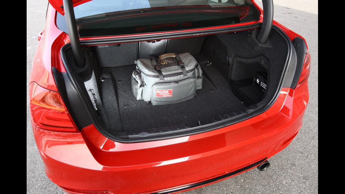 BMW 335i, Kofferraum
