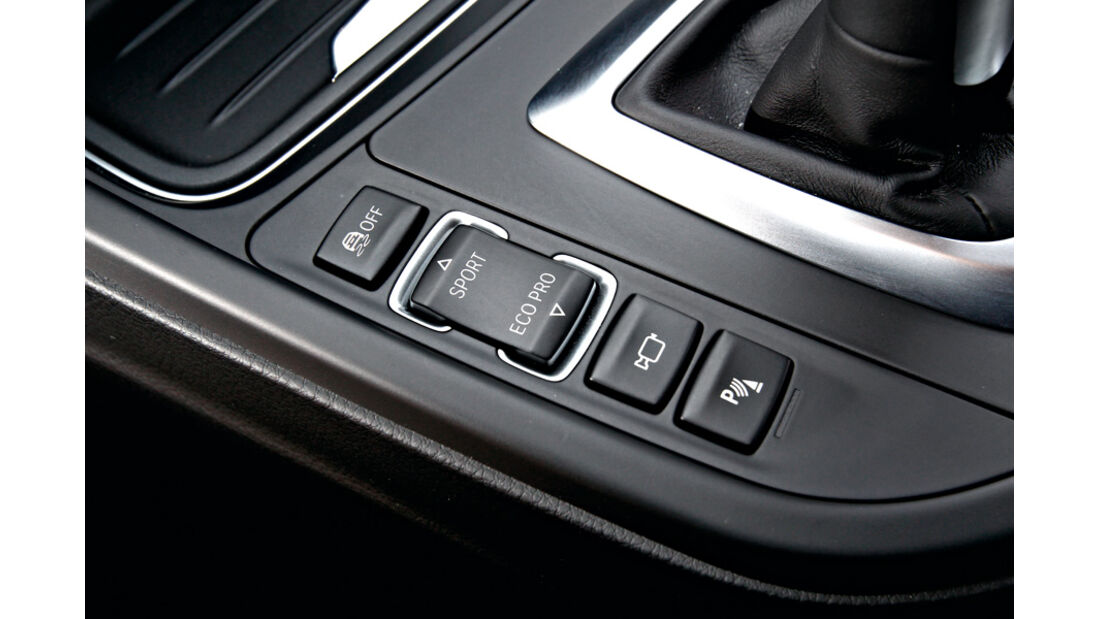 BMW 335i, Regler, Knöpfe