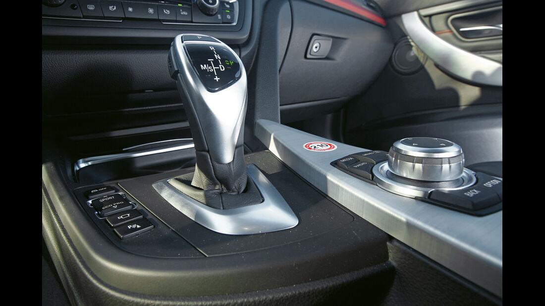 BMW 335i, Schalthebel, Schaltknauf