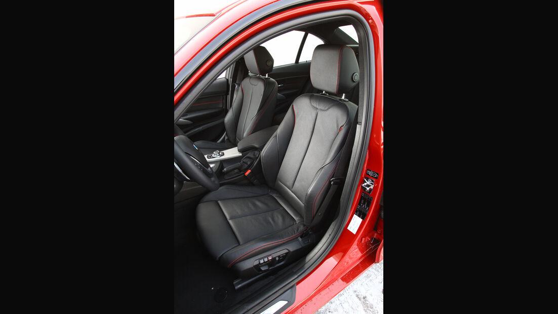 BMW 335i, Sitze