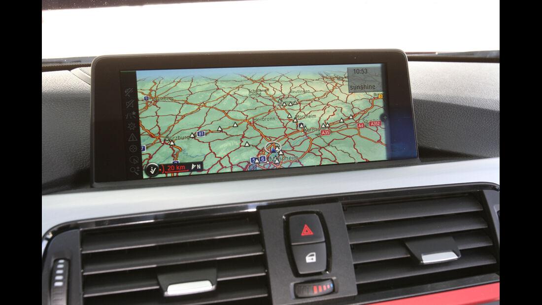 BMW 335i Sport Line, Bildschirm, Navi