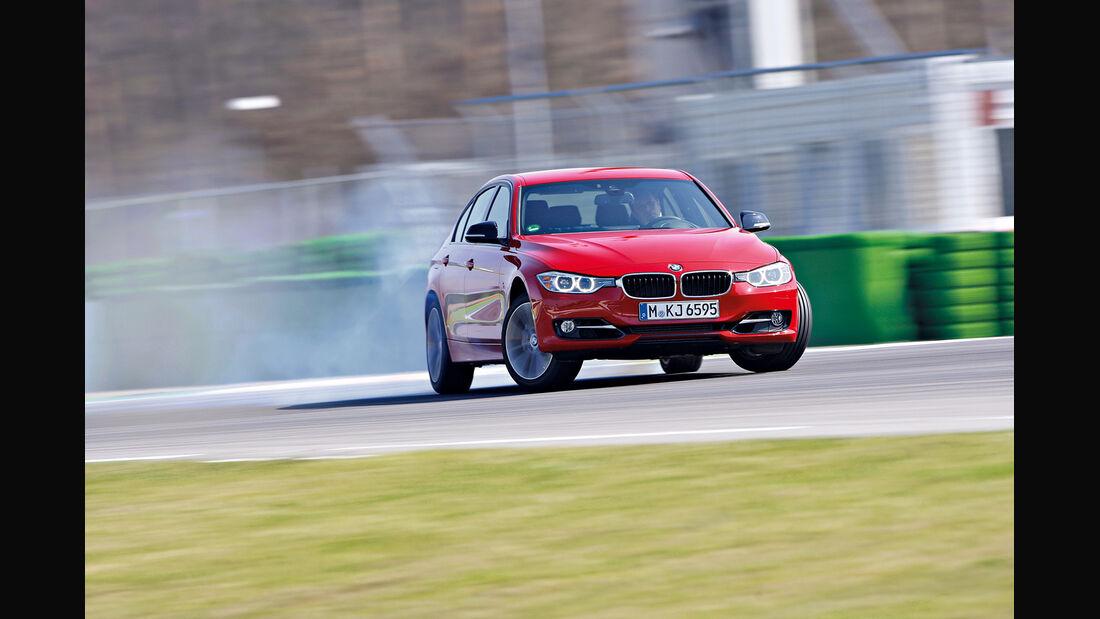 BMW 335i Sport Line, Front, Driften
