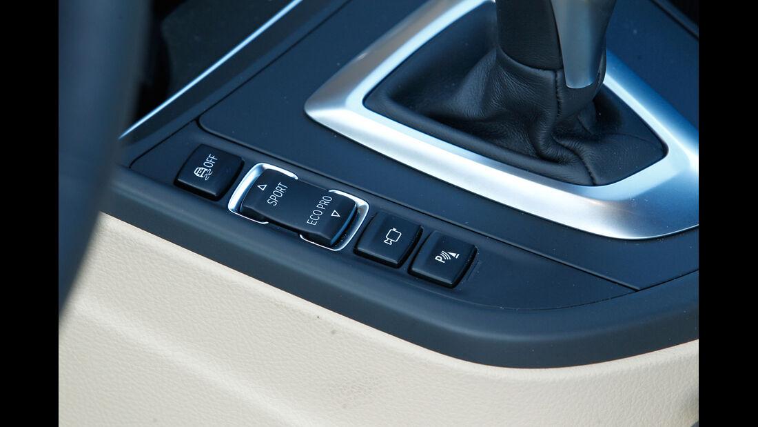 BMW 335i x-Drive Luxury Line, Bedienelemente