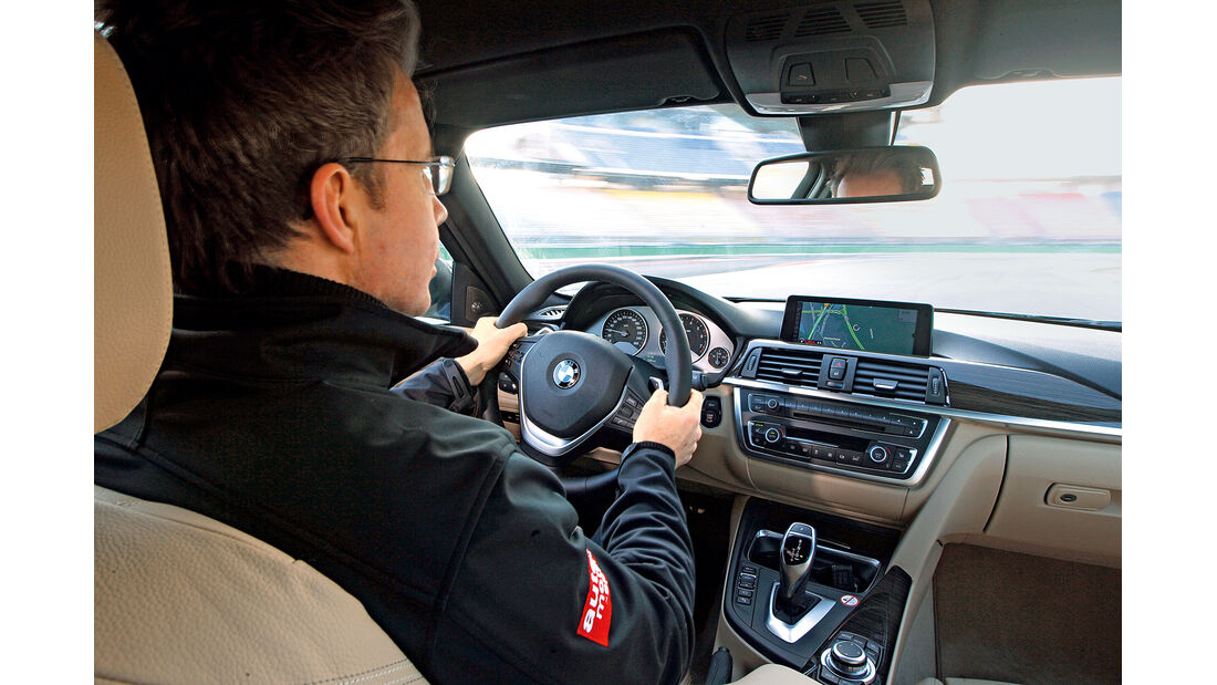 BMW 335i x-Drive Luxury Line, Cockpit