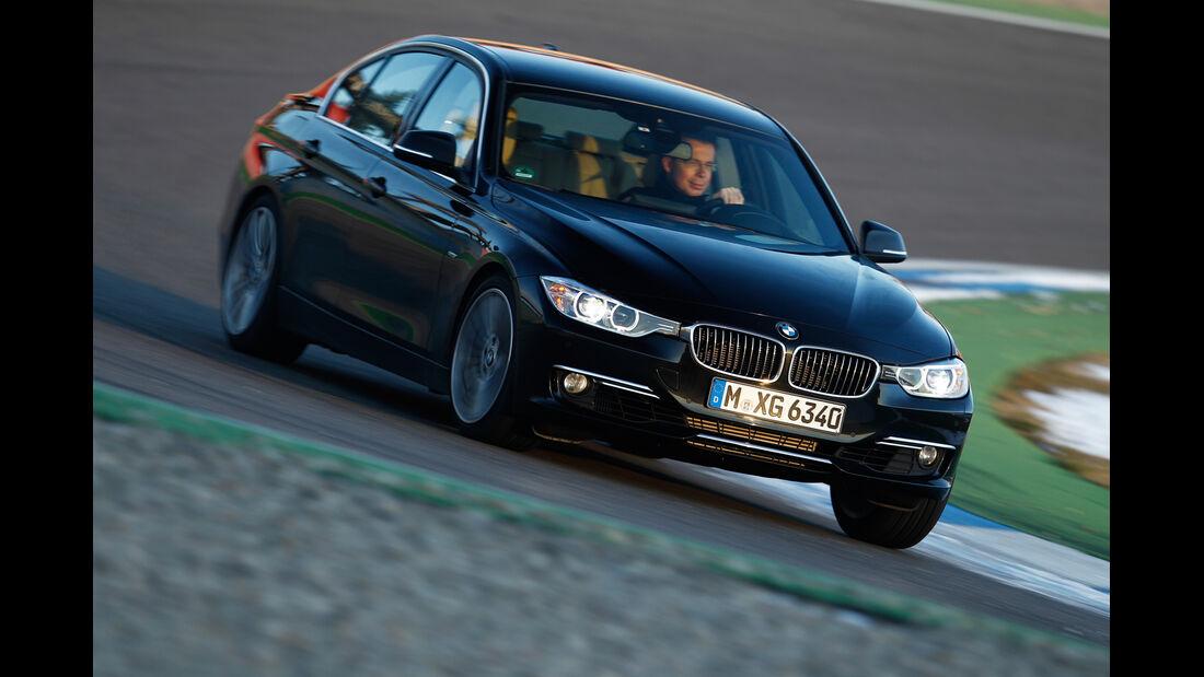 BMW 335i x-Drive Luxury Line, Frontansicht