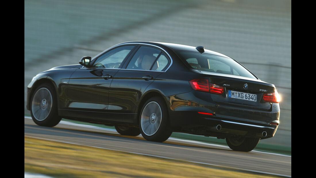 BMW 335i x-Drive Luxury Line, Heckansicht