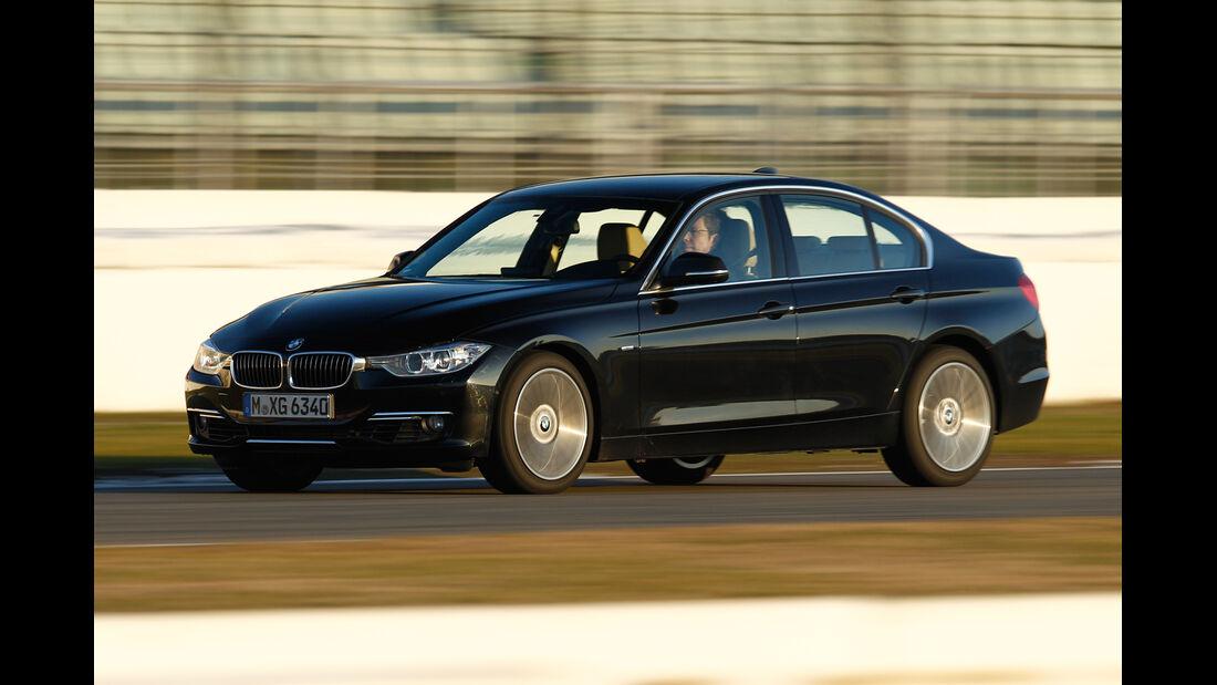 BMW 335i x-Drive Luxury Line, Seitenansicht