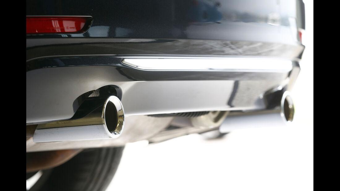 BMW 335i xDrive Touring, Auspuff, Endrohre