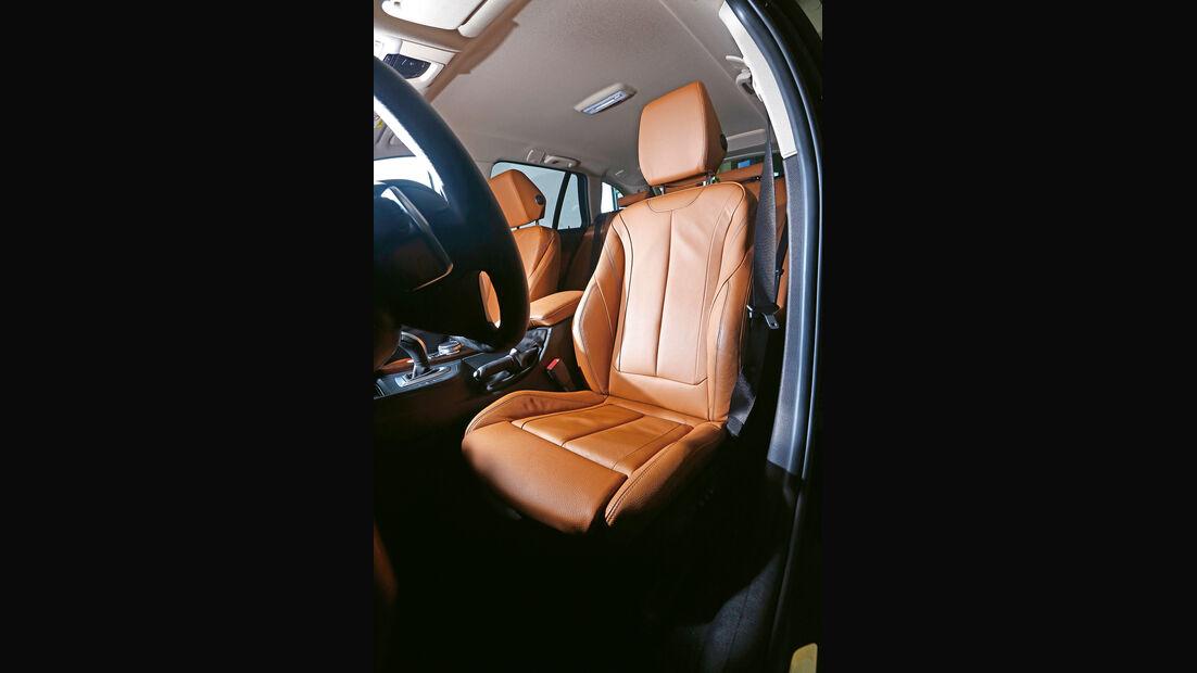 BMW 335i xDrive Touring, Fahrersitz