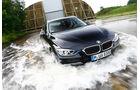 BMW 335i xDrive Touring, Frontansicht, Wasserdurchfahrt