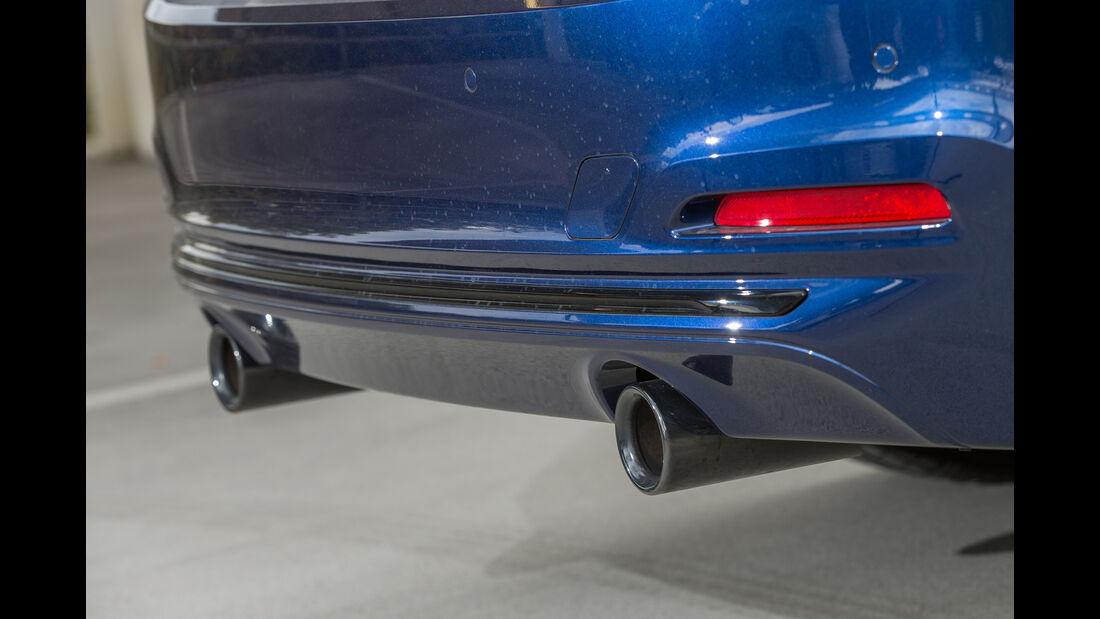 BMW 340i, Auspuff, Endrohr