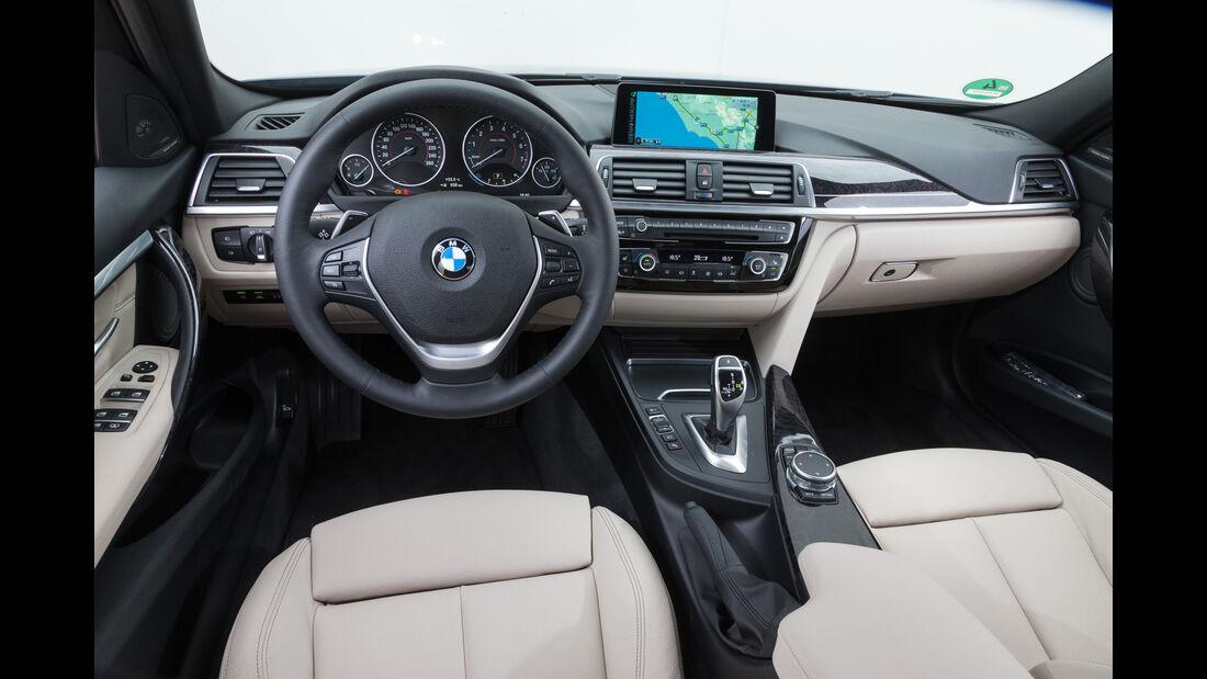 BMW 340i, Cockpit