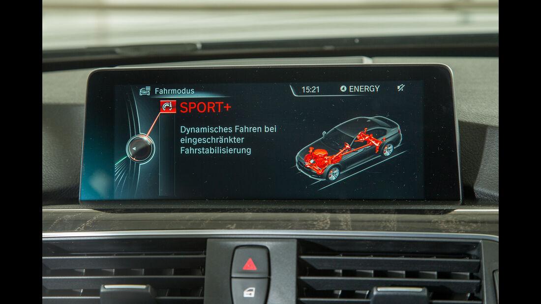 BMW 340i, Display, Infotainment