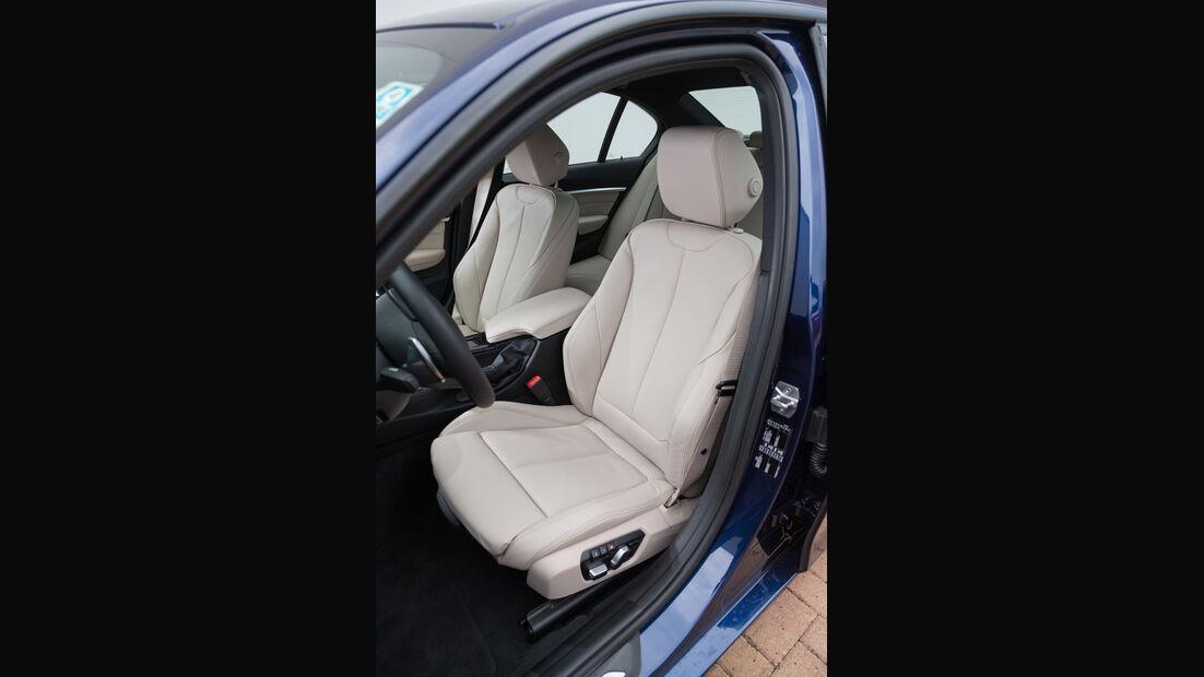 BMW 340i, Fahrersitz