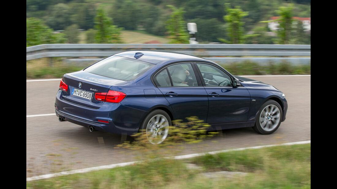 BMW 340i, Heckansicht