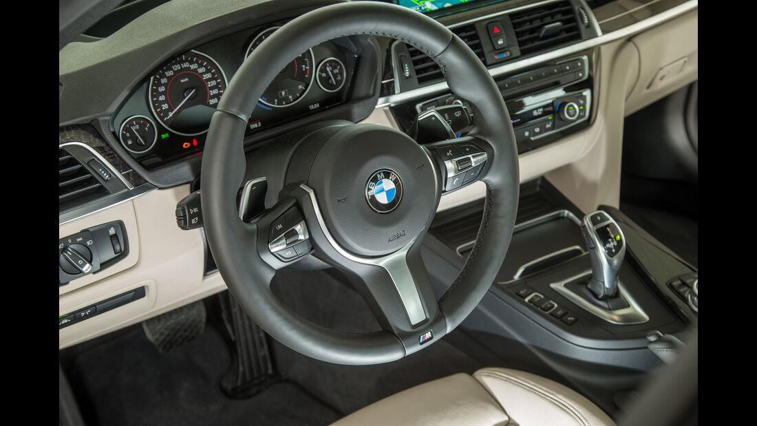 BMW 340i, Lenkrad