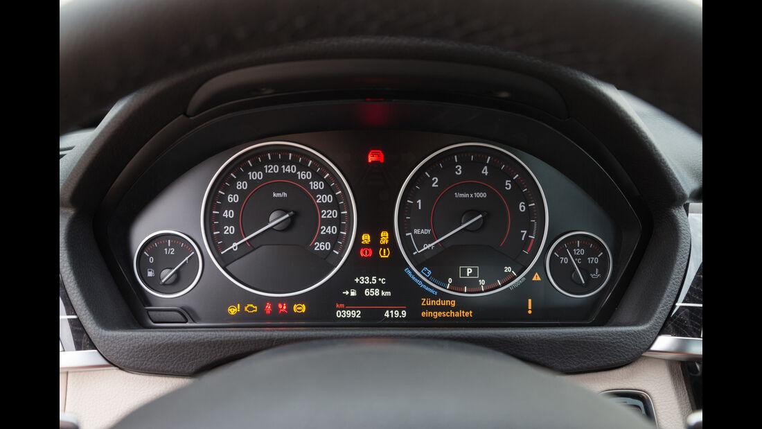 BMW 340i, Rundinstrumente