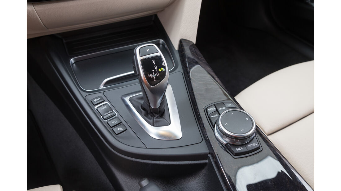 BMW 340i, Schalthebel