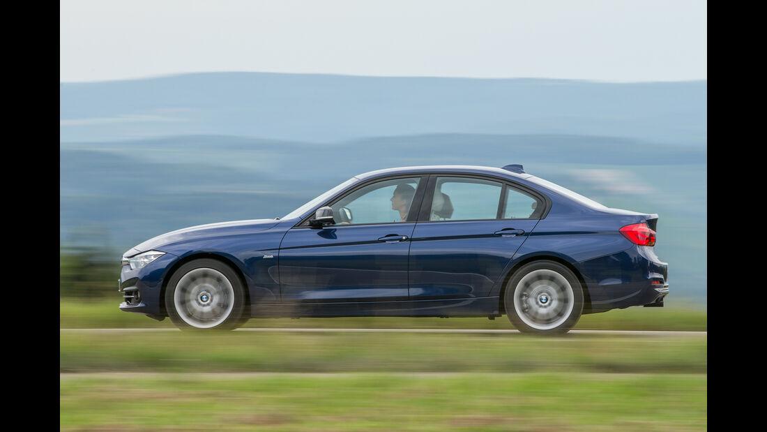 BMW 340i, Seitenansicht