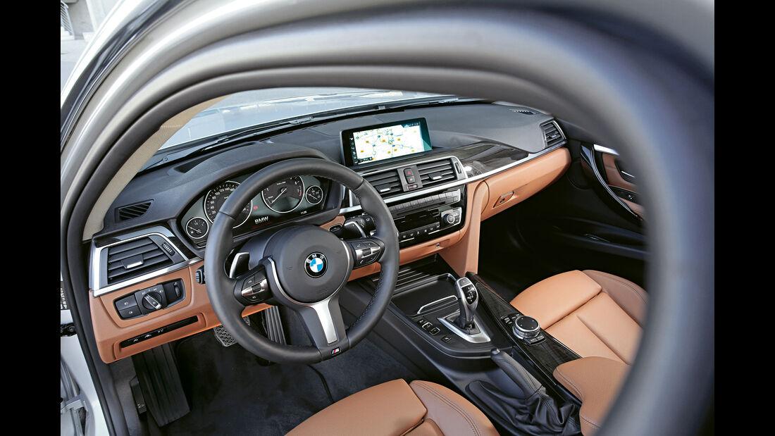 BMW 340i xDrive Touring, Cockpit