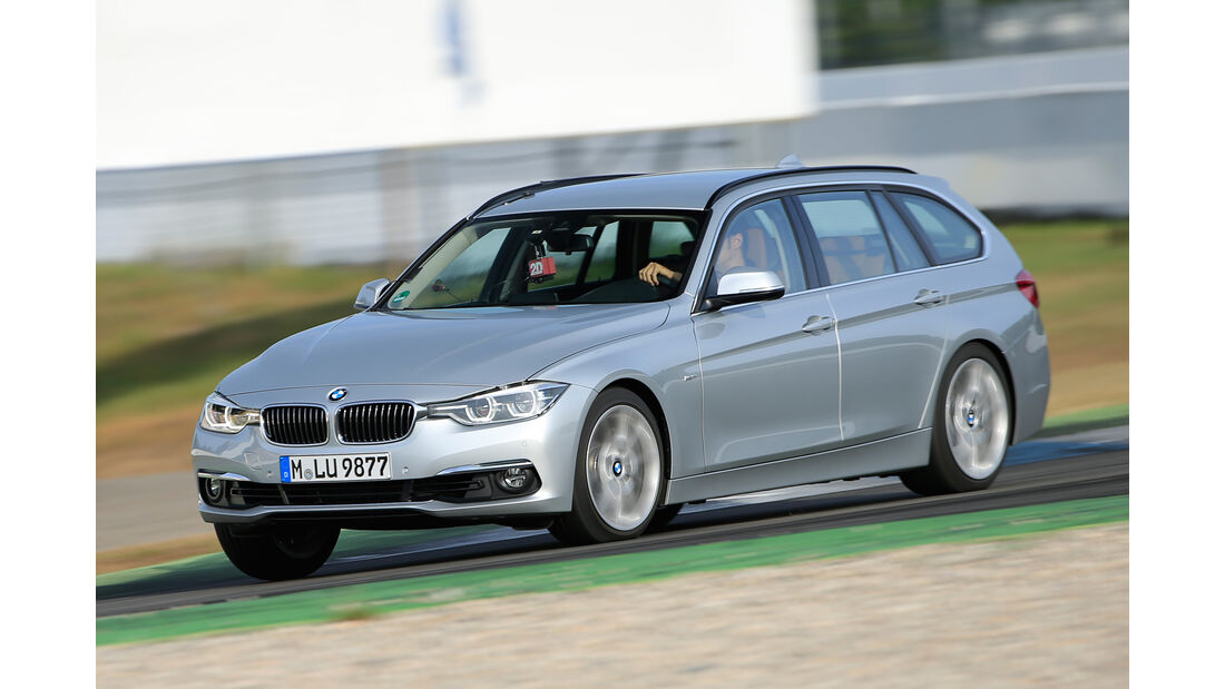 BMW 340i xDrive Touring, Frontansicht