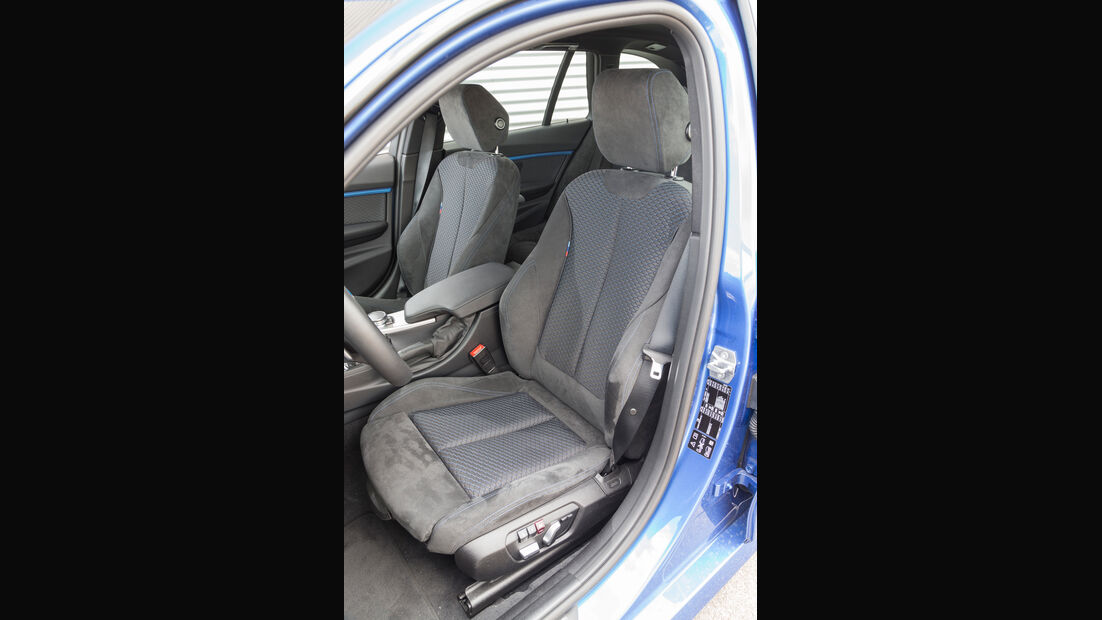 BMW 340i xDrive Touring M Sport, Fahrersitz