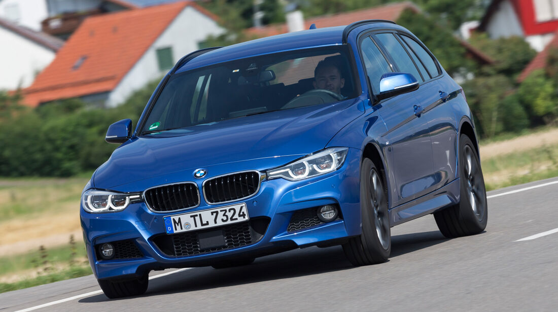 BMW 340i xDrive Touring M Sport, Frontansicht