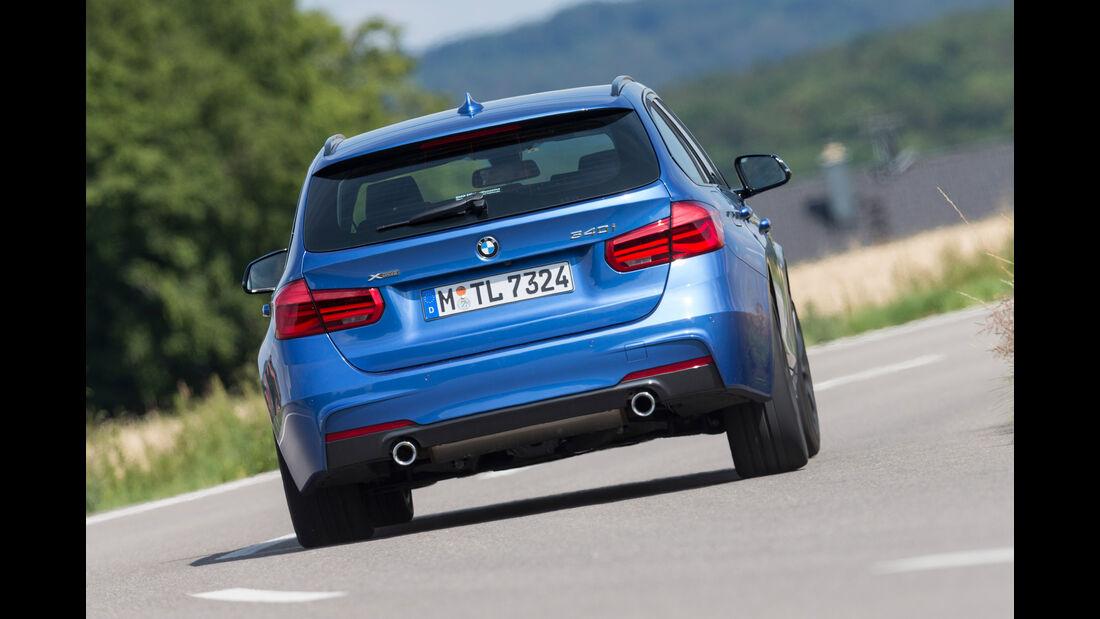 BMW 340i xDrive Touring M Sport, Heckansicht