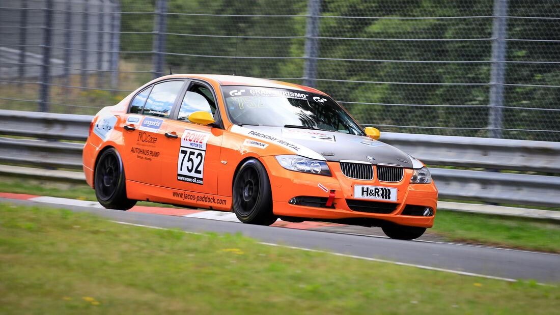 BMW 390l - Startnummer #752 - V4 - NLS 2020 - Langstreckenmeisterschaft - Nürburgring - Nordschleife