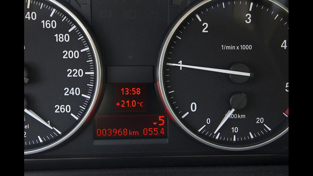 BMW 3er 320d Efficient Dynamics Edition Armaturen