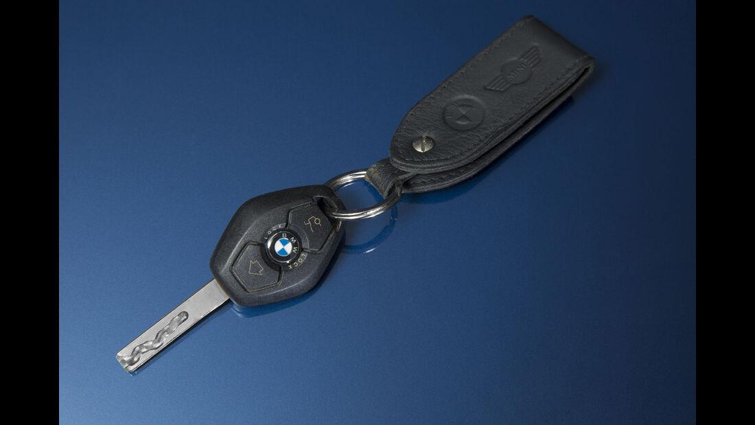 BMW 3er, Baureihe E46, Schlüssel