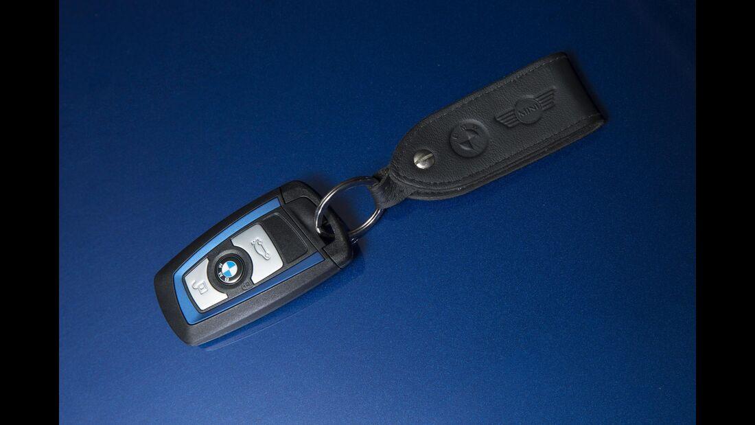 BMW 3er, Baureihe F30, Schlüssel