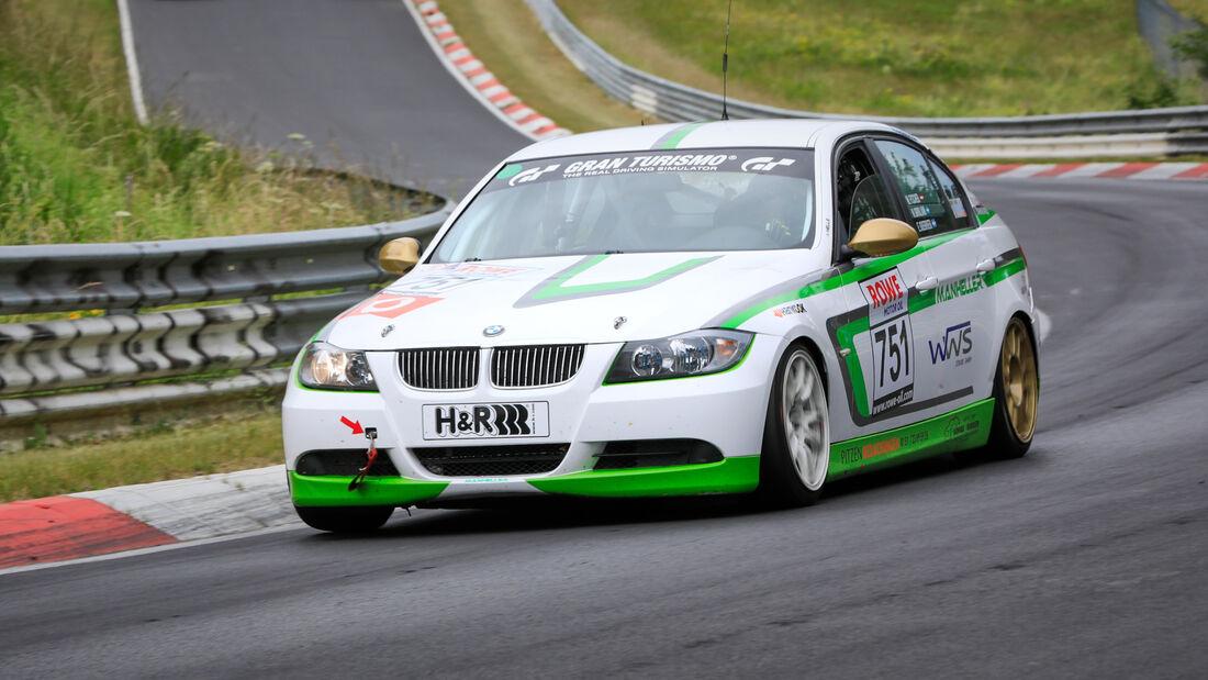 BMW 3er E90 - Startnummer #751 - Manheller Racing - V4 - NLS 2020 - Langstreckenmeisterschaft - Nürburgring - Nordschleife