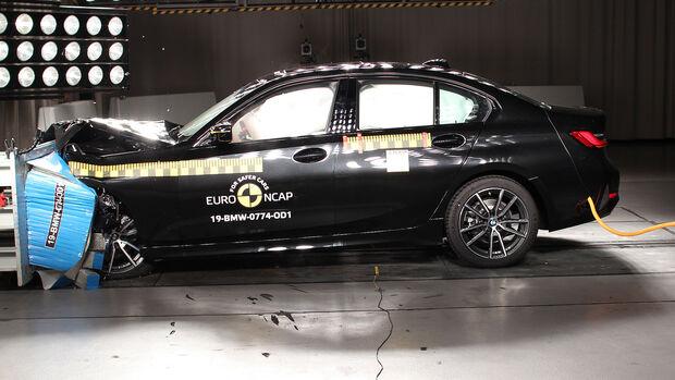 BMW 3er EuroNCAP Crashtest