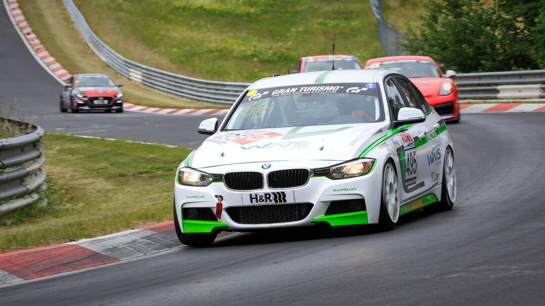 BMW 3er F30 - Startnummer #495 - Manheller Racing - VT2 - NLS 2020 - Langstreckenmeisterschaft - Nürburgring - Nordschleife