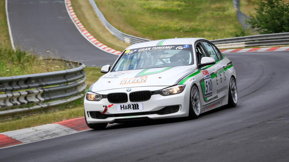 BMW 3er F30 - Startnummer #510 - Manheller Racing - VT2 - NLS 2020 - Langstreckenmeisterschaft - Nürburgring - Nordschleife